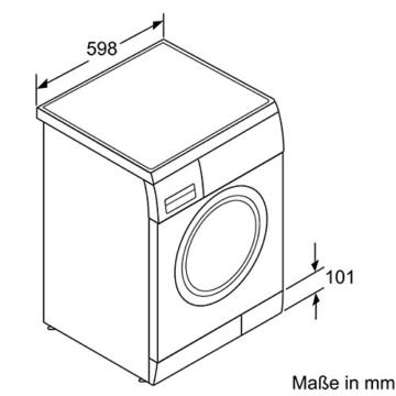 Bosch WAE283ECO Serie 4 Waschmaschine FL / A+++ / 165 kWh/Jahr / 1400 UpM / 7 kg / 10686 Liter/Jahr / ActiveWater spart Wasser und Kosten dank sensorgesteuerter, mehrstufiger Mengenautomatik / weiß - 6