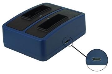 Akku + Dual-Ladegerät Sony Action Cam
