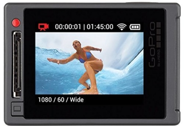 GoPro HERO4 Silver Adventure Actionkamera (12 Megapixel, 41,0 mm x 59,0 mm x 29,6 mm) -