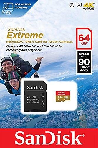 SanDisk Action Cam Speicherkarte 64GB