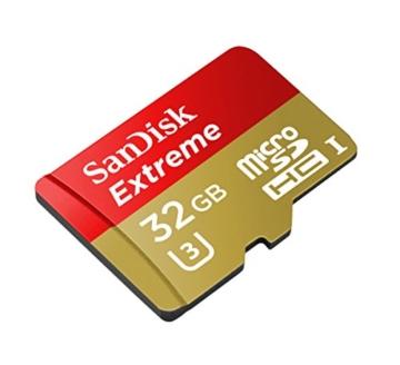 SanDisk Action Cam Speicherkarte 32GB