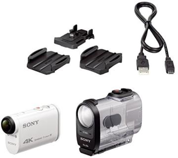 Sony FDR-X1000V 4K Action Cam mit Schutzhülle