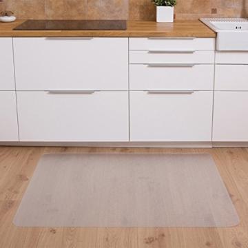 Bürostuhl Bodenschutzmatte transparent für Hartböden