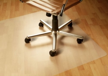 Büro & Schreibwaren Kleinmöbel & Accessoires Bodenschutzmatte Transparent