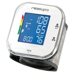 MeasuPro Digitales Handgelenk-Blutdruckmessgerät