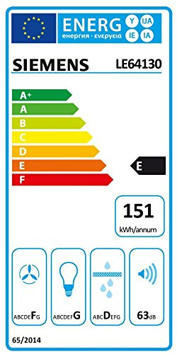 Siemens LE64130 Dunstabzugshaube