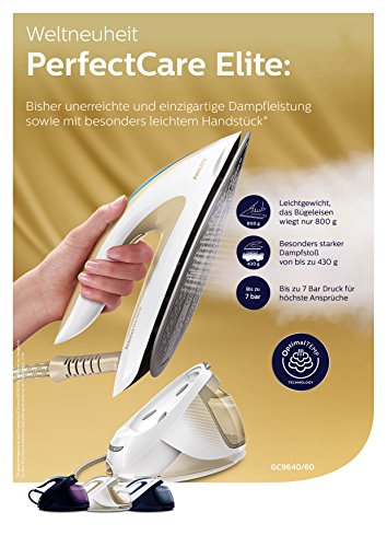 Philips PerfectCare Elite Silence GC9640/60 Dampfbügelstation
