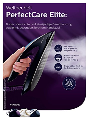 Philips PerfectCare Elite Silence GC9650/80 Dampfbügelstation