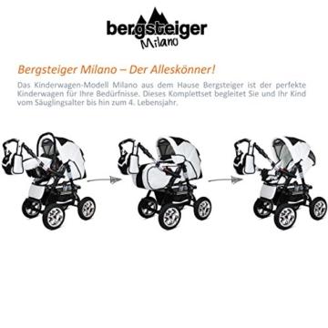 Bergsteiger Milano Kombikinderwagen 3 in 1