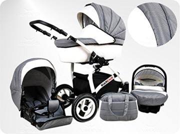 Lux4Kids BIANCinO Kombikinderwagen 3 in 1