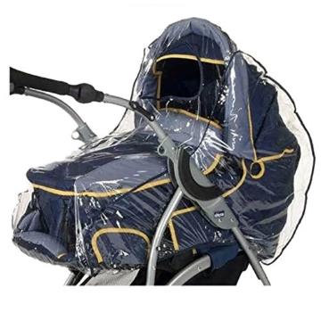 Regenschutz für Kinderwagen und Buggy