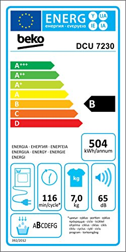 Beko DCU 7230 Kondenstrockner