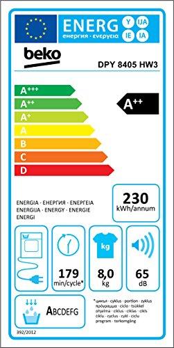 Beko DPY 8405 HW3 Wärmepumpentrockner
