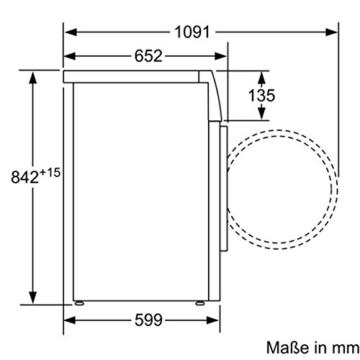 Bosch WTH85200 Wärmepumpentrockner