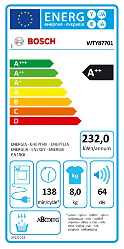 Bosch WTY87701 Wärmepumpentrockner