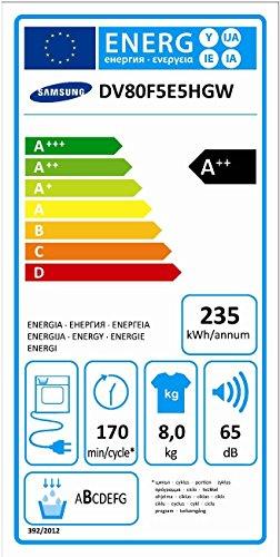 Samsung DV80F5E5HGWEG Wärmepumpentrockner