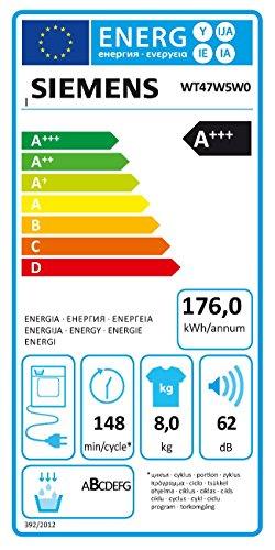 Siemens WT47W5W0iQ700 Wärmepumpentrockner