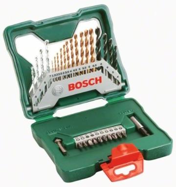 Bosch Bohrerset Schrauberset 30tlg. X-Line Titanium